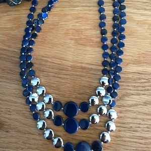 Jewelry - Blue & silver necklace